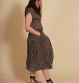 Grey 80s co-ord with all-over print
