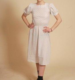 Classy striped 70s dress