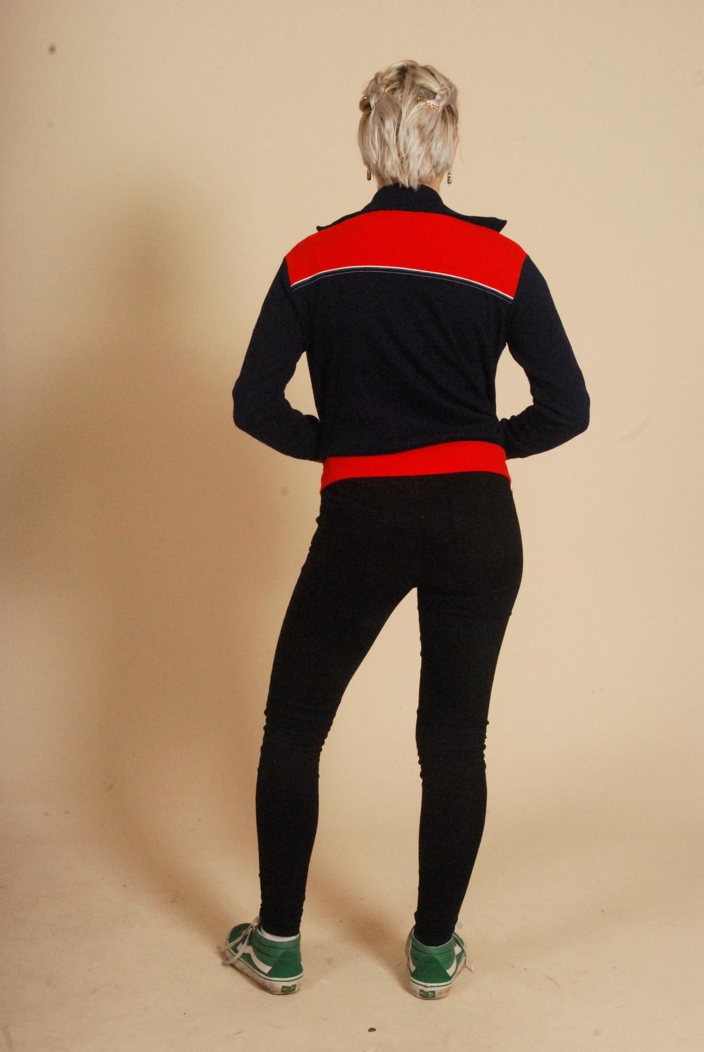 Classic 70s track jacket