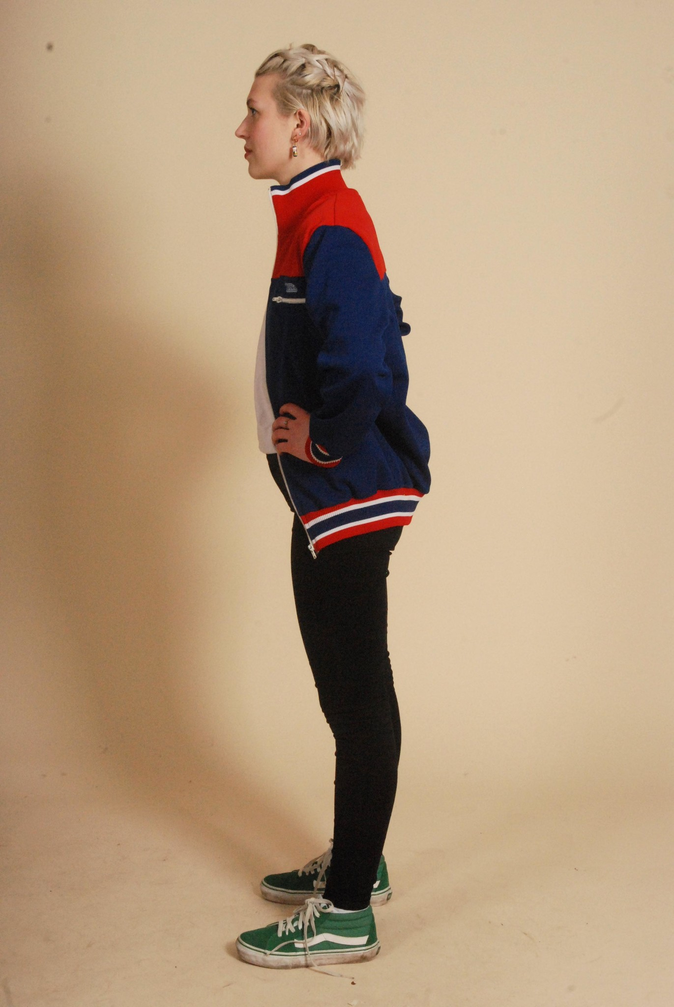 Classic 70s track jacket
