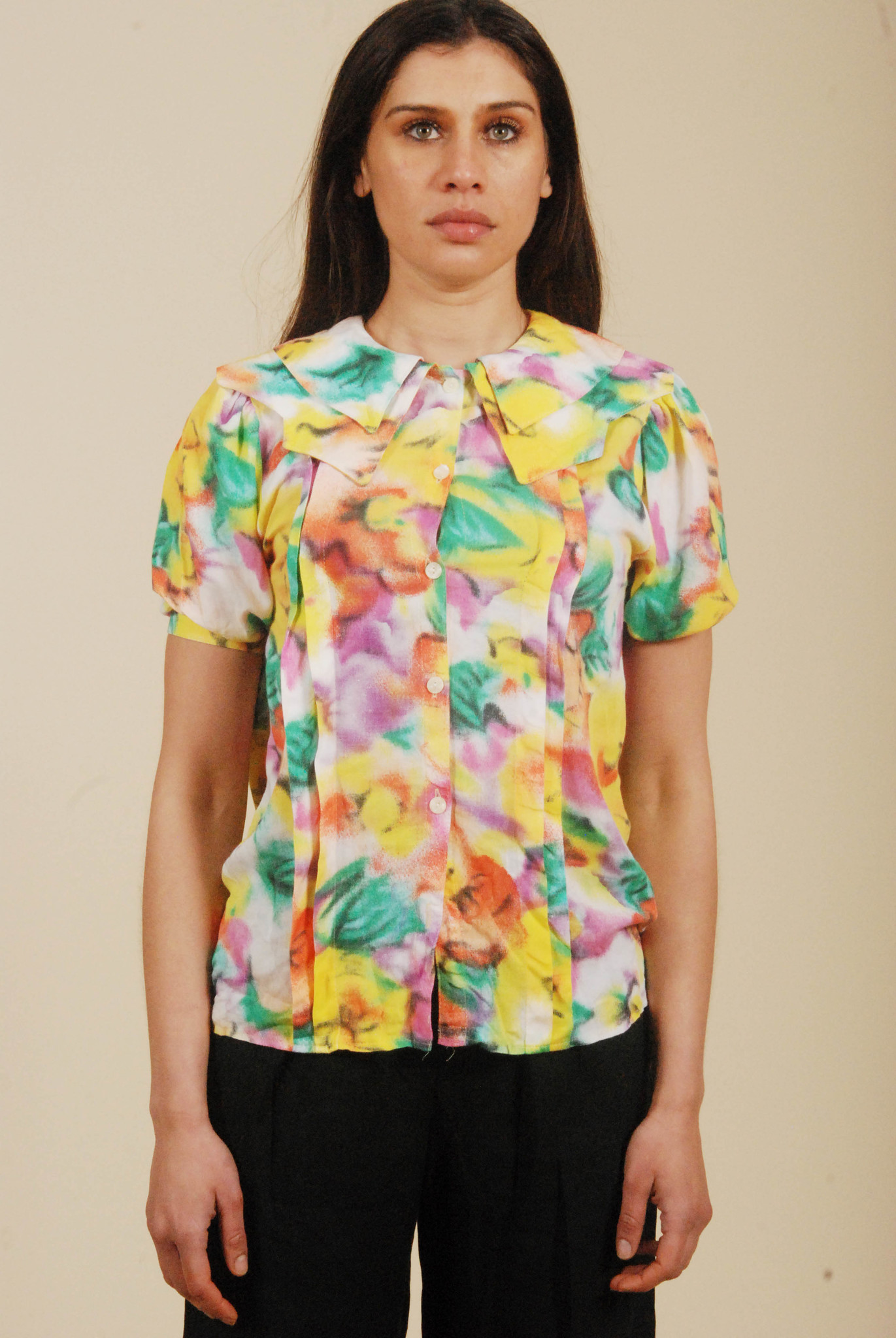 Colorful 80s shirt