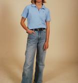 Blue 90s Kappa polo shirt