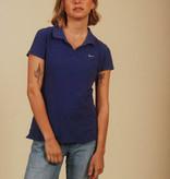 Purple 90s Nike polo shirt