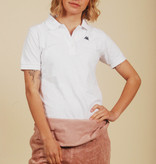 White 90s Kappa polo shirt
