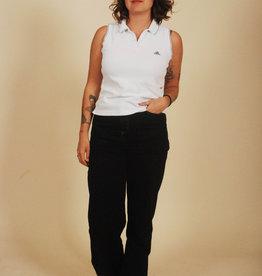 White 90s Adidas shirt