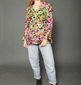 Bright jacket with all-over print