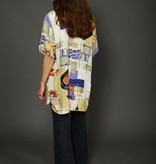 Classic 90s shirt with all-over print