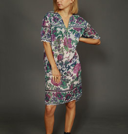 Floral 70s tunic