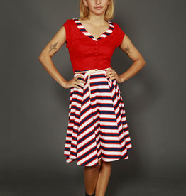 Collectif stripped dress