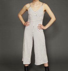 Striped 00s jumpsuit