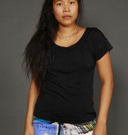 Black 80s shirt