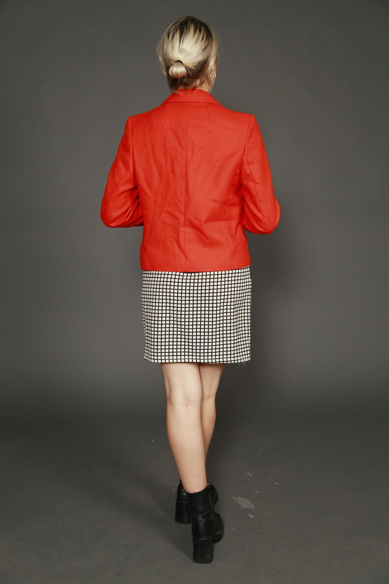 Orange 70s jacket