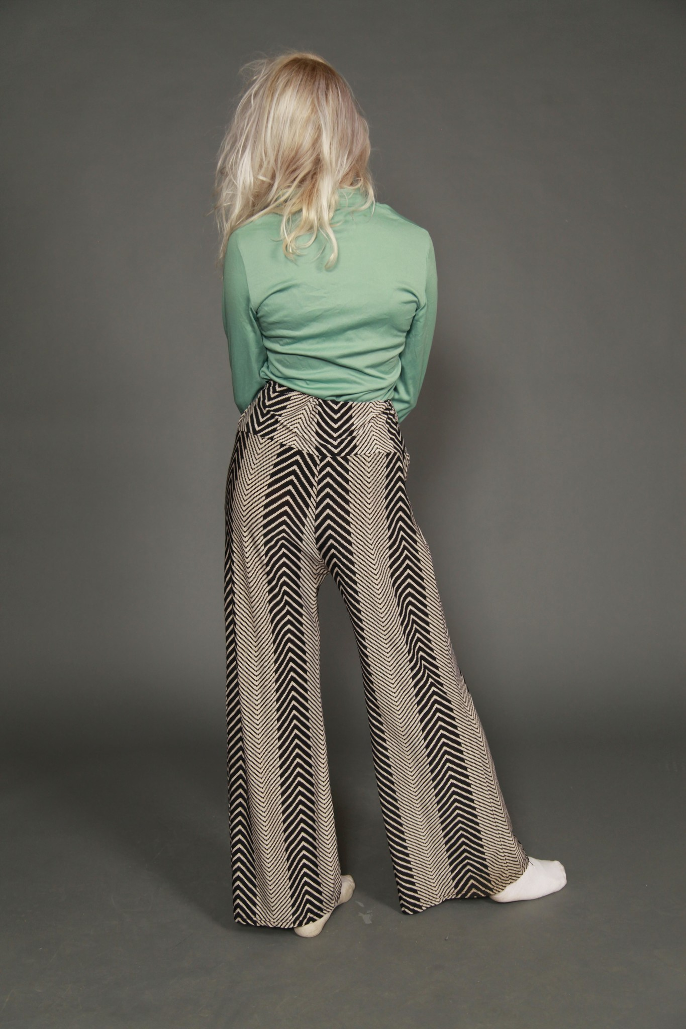 Comfortable printed trousers