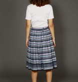 Striped 80s skirt