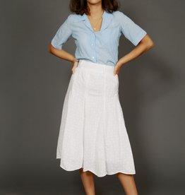 White 70s skirt