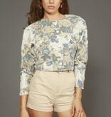 Floral 80s jacket