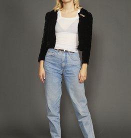 Velvet 80s jacket