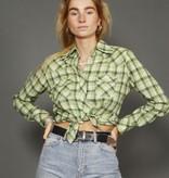 Plaid 70s shirt