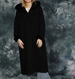 Blue 80s winter coat