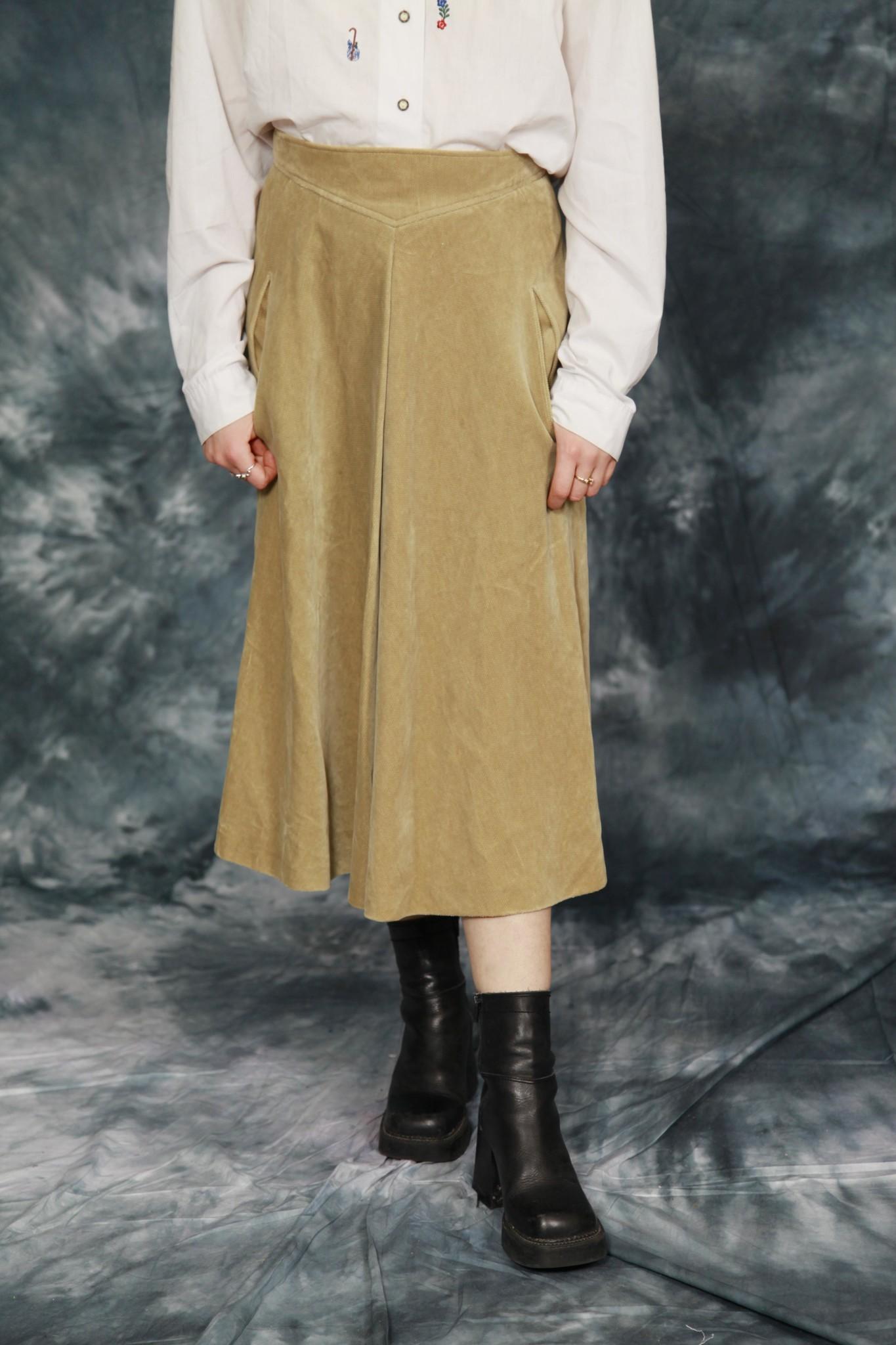Classy A-line skirt