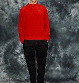 Red velvet long sleeve