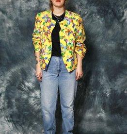 Yellow 80s jacket