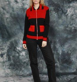 Striped 70s jacket