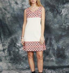 White 60s mini dress
