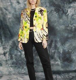 Printed 80s jacket