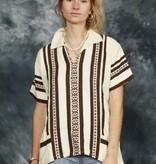 Brown 70s shirt