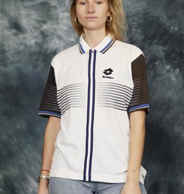 White 90s Lotto polo shirt