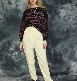 Classic 90s trousers in yellow