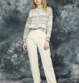 Classic 90s trousers in white