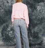Pink 80s long sleeve