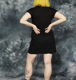 Black paisley top