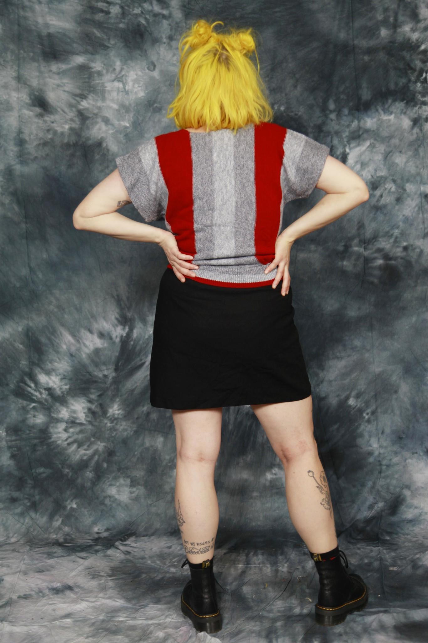 Striped 70s short sleeve