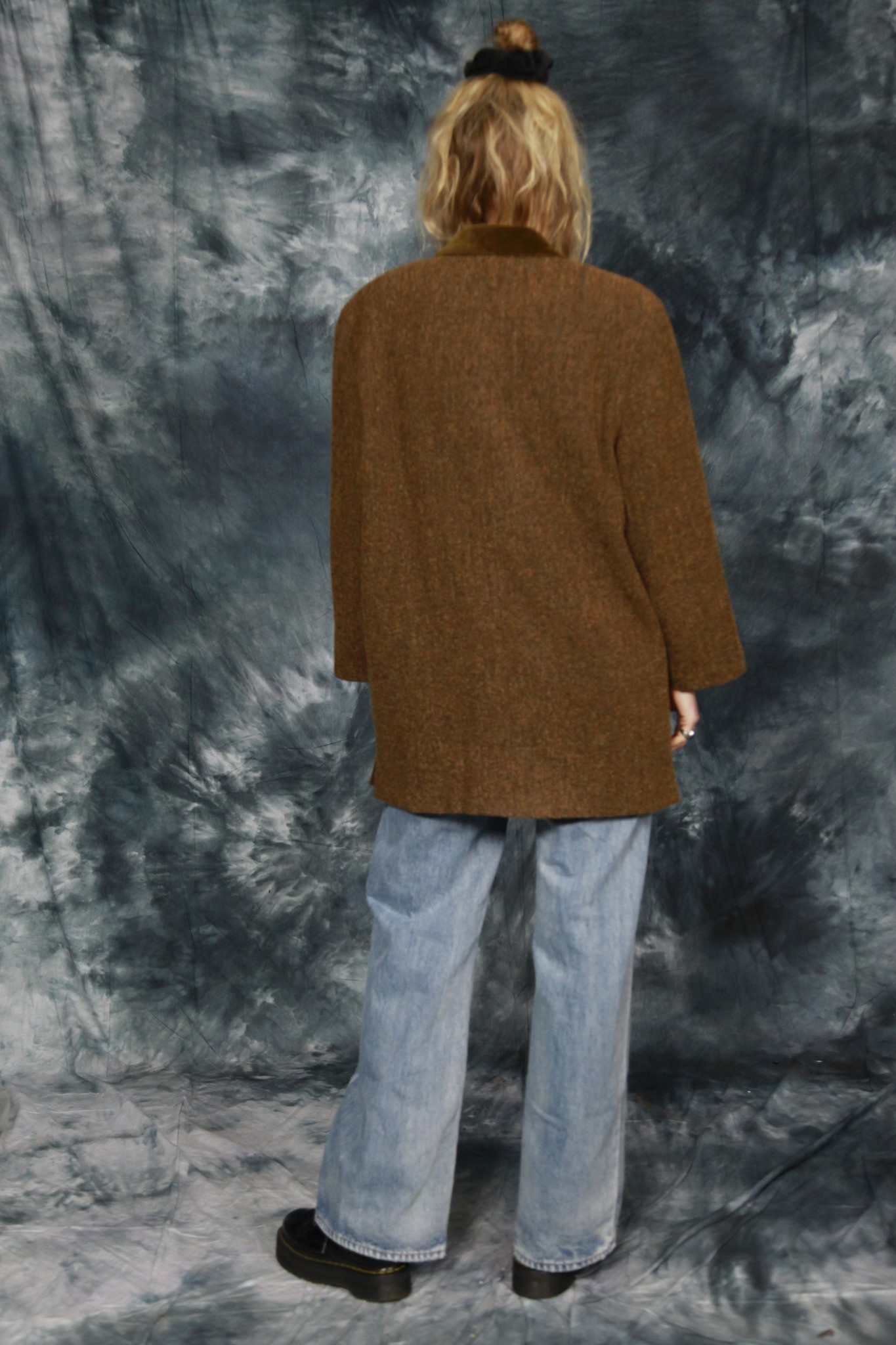 Classic 80s jacket in brown