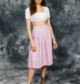 Classy pink skirt