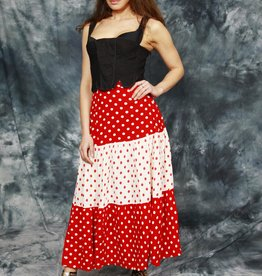 Lovely polka dot skirt in red