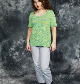 Lovely 70s top in green