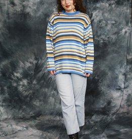 Striped 70s jumper