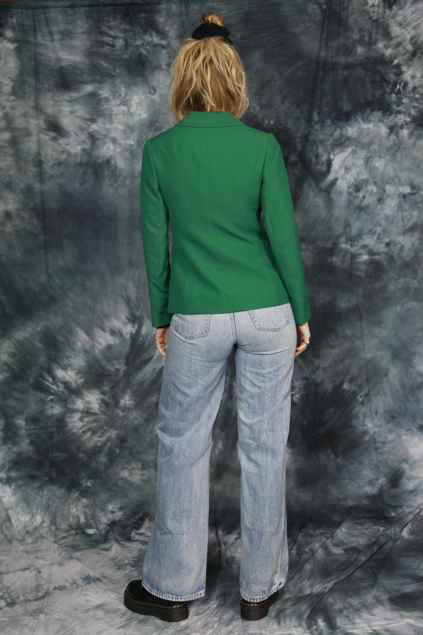 Green 70s jacket