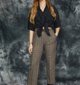Cool 80s trousers in brown
