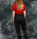 Black Puma track pants