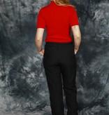 Black Nike track pants
