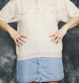 Beige 80s short sleeve