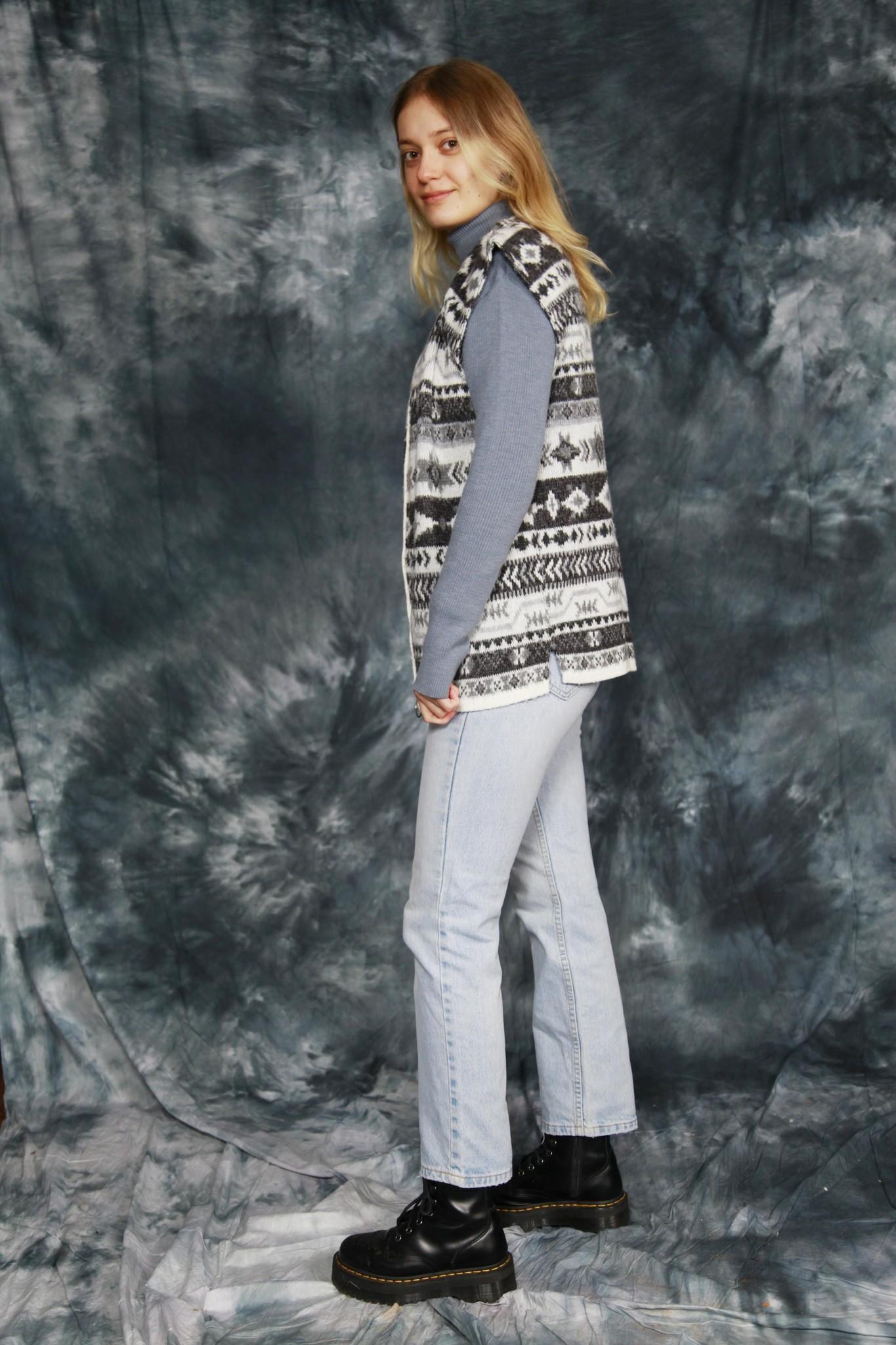 Grey Aztec jacket