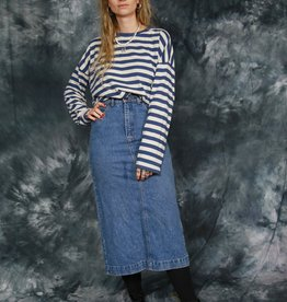 Classic 90s denim skirt