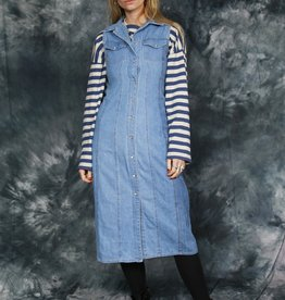 Denim 90s dress
