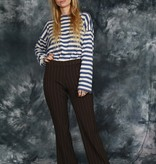 Striped 90s trousers